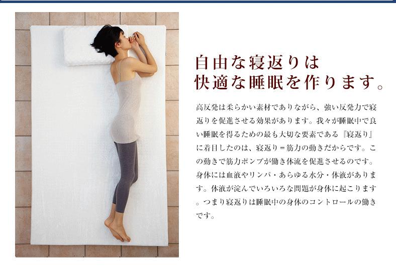 高反発寝具LOHATEX敷きパッド(トッパー)厚さ2.5cm